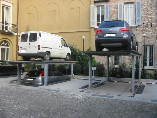 independent duplicator bs parcheggi